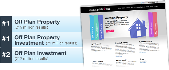 Property Investment Co Dominates Google
